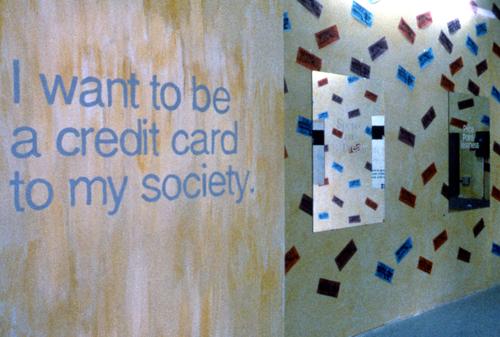 Canadian Cultural  Center, created by D. Nile (a.k.a. Billiam James) for Edmonton Art Fesitival, 1989